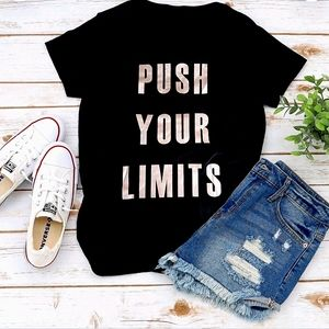 Reflex Push your Limits Graphic Tee Plus 2x